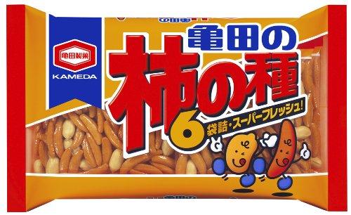 亀田製菓 亀田の柿の種6袋詰 210g×6袋