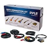 Pyle-Home PHDMIKT1 HDTV Audio/Video Cable Connection Kit Compatible With Plasma LCD/LED/DLP/DVD And Audio Players...