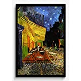 Seven Rays Vincent Van Gogh - The Café Terrace On The Place Du Forum:: Arles:: At Night:: C.1888 Framed (With...