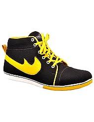 Aureno Men's Synthetic Sneakers - B011BGBIIE