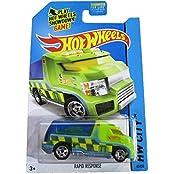 Hot Wheels 2014 Hw City Hw Rescue 43/250 Rapid Response (Green)