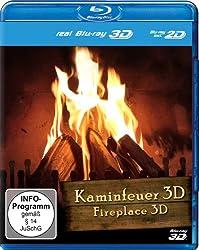 Fireplace 3D [Blu-ray 3D+2D] (Region Free)
