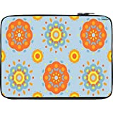 Snoogg Flower Pattern 2527 12 To 12.6 Inch Laptop Netbook Notebook Slipcase Sleeve