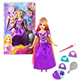 """Mattel Year 2011 Disney Princess Movie Series """"Tangled"""" 11 Inch Doll - Color And Style Rapunzel With"""