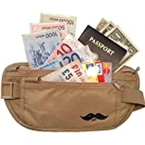 Special Rates - RFID Blocking Money Belt - Travel Wallet , Credit Card & Passport Holder, Safe, Undercover See...