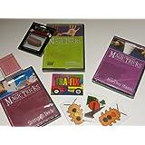 Amazing Easy To Learn Magic Tricks: Pro Brand Bridge Size Svengali Deck With Dvd, Magic Thumbtip With Dvd, Magic...