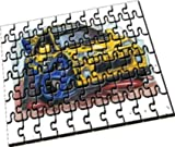 Personalisiertes Koolart - Renault Megane Rally Car - A4 Holzpuzzle by Eminence Gifts Ltd