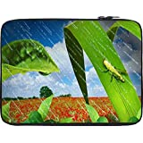 Snoogg Grasshopper In The Rain 2637 12 To 12.6 Inch Laptop Netbook Notebook Slipcase Sleeve