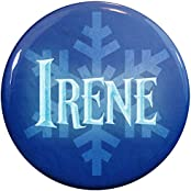 Henry The Buttonsmith Irene Winter Ice Name Tag