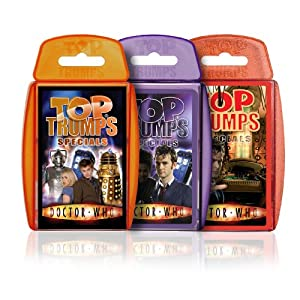 Click to buy Dr. Who Top Trumps from Amazon!