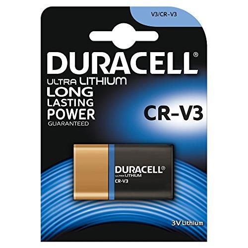 Duracell Ultra Digital Camera Battery CR-V3