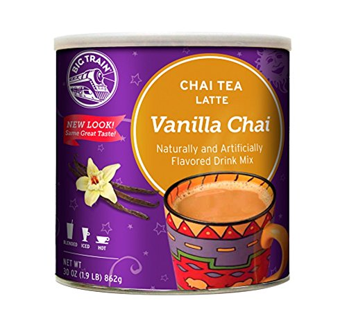 Big Train Chai Tea, Vanilla, 1.9 Pound