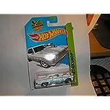2014 Hot Wheels Hw Workshop 233/250 - 64 Chevy Chevelle SS - White
