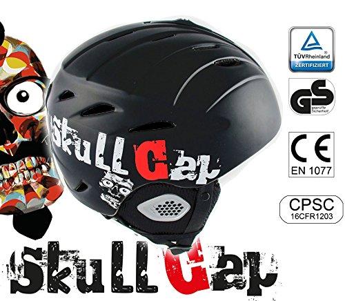 >> 39€ statt 79€ - Skihelm / Snowboardhelm von Skullcap - Sicher - leicht - sitzt felsenfest - Jetzt testen!-