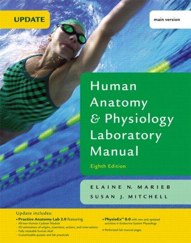NEW Human Anatomy & Physiology Laboratory Manual, Cat Version (12th ...