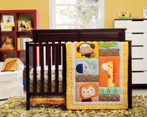 Giraffe Print Crib Bedding
