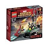 レゴ スーパーヒーローズ アイアンマンvs. マンダリン:究極のショーダウン 76008