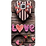 Love Design 3D Printed Hard Back Case Cover For Samsung Galaxy J7