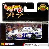 1999 Mattel Hot Wheels Racing Track Edition Nascar Brett Bodine #11 Paychex Ford Taurus 1:64 Scale Die Cast New...