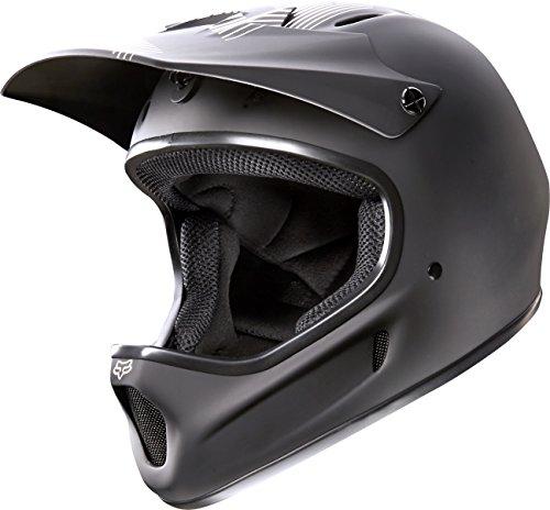 Fox Head Rampage Adult MX Full Face Bike Helmet (Matte Black, Xlarge)