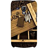 For Samsung Galaxy S3 Mini I8190 :: Samsung I8190 Galaxy S III Mini :: Samsung I8190N Galaxy S III Mini Wood Board ( Wood Board, Lighter, Wood, Nature ) Printed Designer Back Case Cover By FashionCops