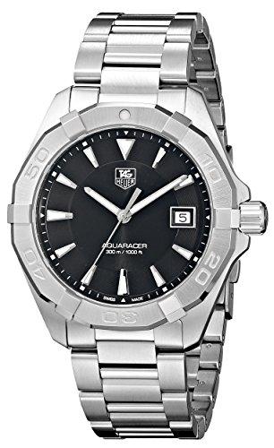 TAG Heuer Men's WAY1110.BA0910 300 Aquaracer Stainless Steel Watch