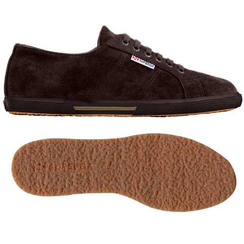Superga 2950- SUEU S003TE0 - Zapatillas de ante para hombre, color marrón, talla 44