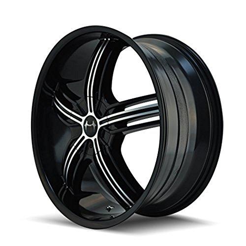 Mazzi Galaxy 365 Black Wheel with Milled Spokes (20×8.5″/10x112mm)