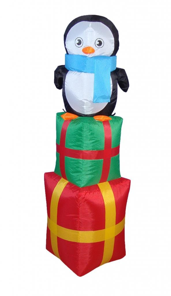 Christmas Penguins Outdoor Inflatables