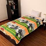Factorywala Super Soft Cartoon Kids Design Print Reversible Single Bed Dohar, Blanket, AC Dohar Best Offer Discount Gift For Boy Or Girl