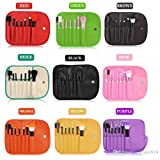 Professional 7 PCS Makeup Brushes Set Tools Make-up Toiletry Kit Wool Brand Make Up Brush Set Case Cosmetic Foundation...