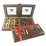 Chocholik - Classy Combination Of Milk Cashew And Chocolates - Chocholik Belgium Gifts