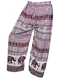Women's Cotton Harem Pants Afghani Trousers - B06XVH8PBZ