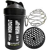 5 O'Clock Sports Mamba Black Fat Boy Shaker Bottle - 600 Ml- Sleek And Convenient Design