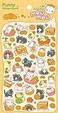 Kawaii Mew Mew Cat Stickers, 2 Sheets, #41242