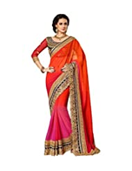 Indian E Fashion Latest Party Wear Georgette Saree Collection For Women Girls & Ladies