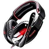 SADES SA-902 Professional Stereo Gaming Headset With Mic 7.1 Channel Surround Sound Deep Bass Headphones Noise...