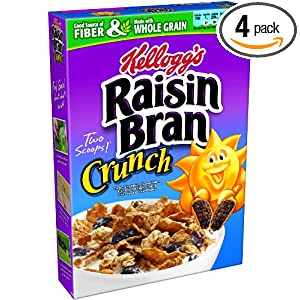Raisin Bran Crunch Cereal For 1 61 Per Box Shipped
