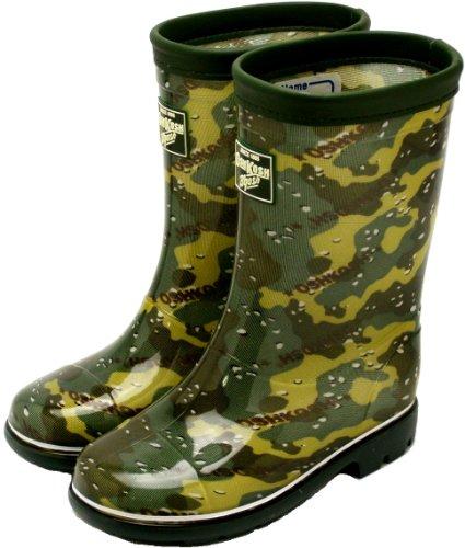 [ムーンスター] オシュコシュ ロンプ C59【長靴】 カモフラージュ 21.0cm