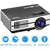 Pico Projector LCD Mini Projectors 1080P WiFi Android Beamer Digital Proyector Home Theater Cinema Video Games...