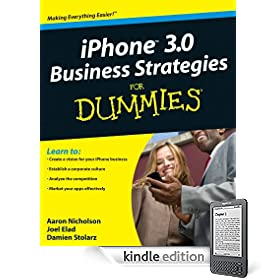 iPhone 3.0 Business Strategies For Dummies<sup>&#174;</sup>
