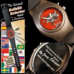Universal Bullshit Detector Watch by Joey Skaggs