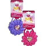 2 Piece Disney Princess Hair Ponies Set - Girls Hair Accessories
