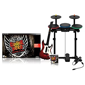 Guitar Hero: Warriors of Rock Bundle [PS3, XBOX 360, Wii] für 99,99 € inkl. VSK (30 € gespart)!
