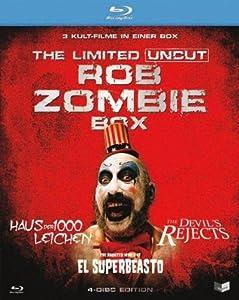 BR BOX Rob Zombie Lim. UNCUT 4Disc (Devils Rejects/Haus