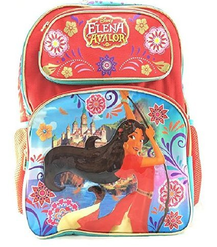"Disney Princess Elena Of Avalor 16"" Girls School Backpack-07767"