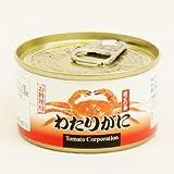 トマトコーポレーション わたりがに ほぐし身 缶詰 60g×24個