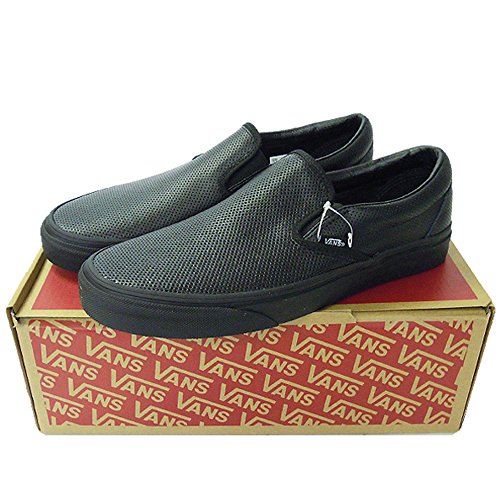 VANS(バンズ) CLASSIC SLIP-ON(PERF LEATHER)BLACK size US 9,5