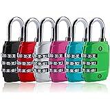 Alcoa Prime Hot Sale Zinc Alloy Security 3 Combination Travel Suitcase Luggage Code Lock Padlock