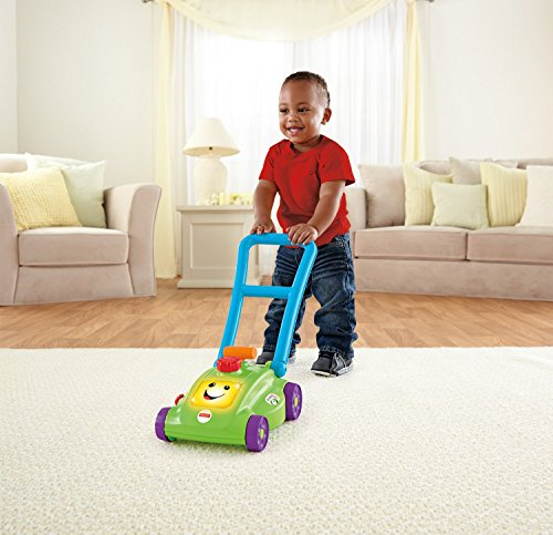 Fisher Price Space Saver Mower, Multi Color